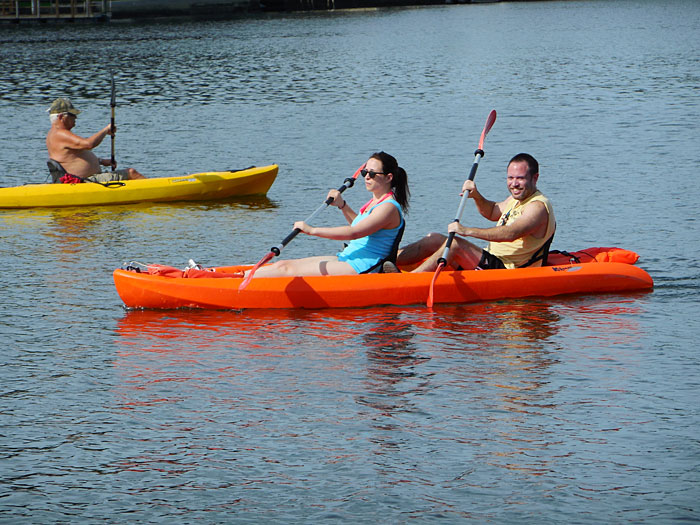 Rent a Kayak in Crystal River Florida